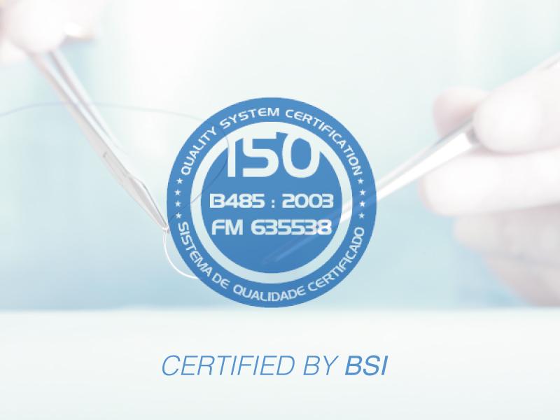 A Mazzaferro Medical obtém a Certificação ISO13485:2003