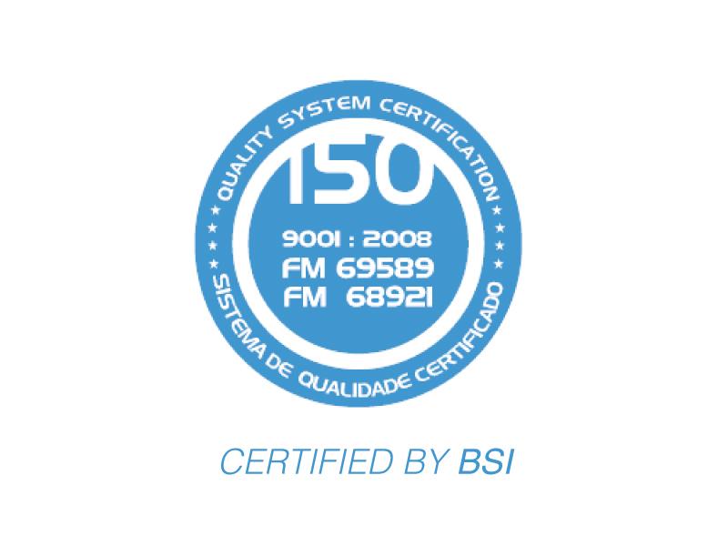 Certificação ISO9001:2008