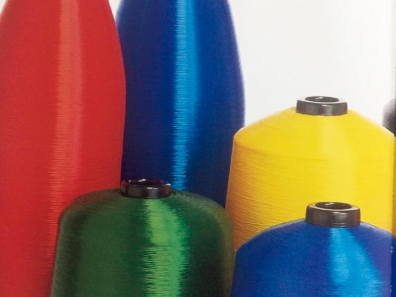 Extrusão de multifilamento de nylon 6 de alta tenacidade